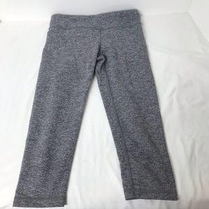 Ivivva Gray Cropped Leggings Sz 10